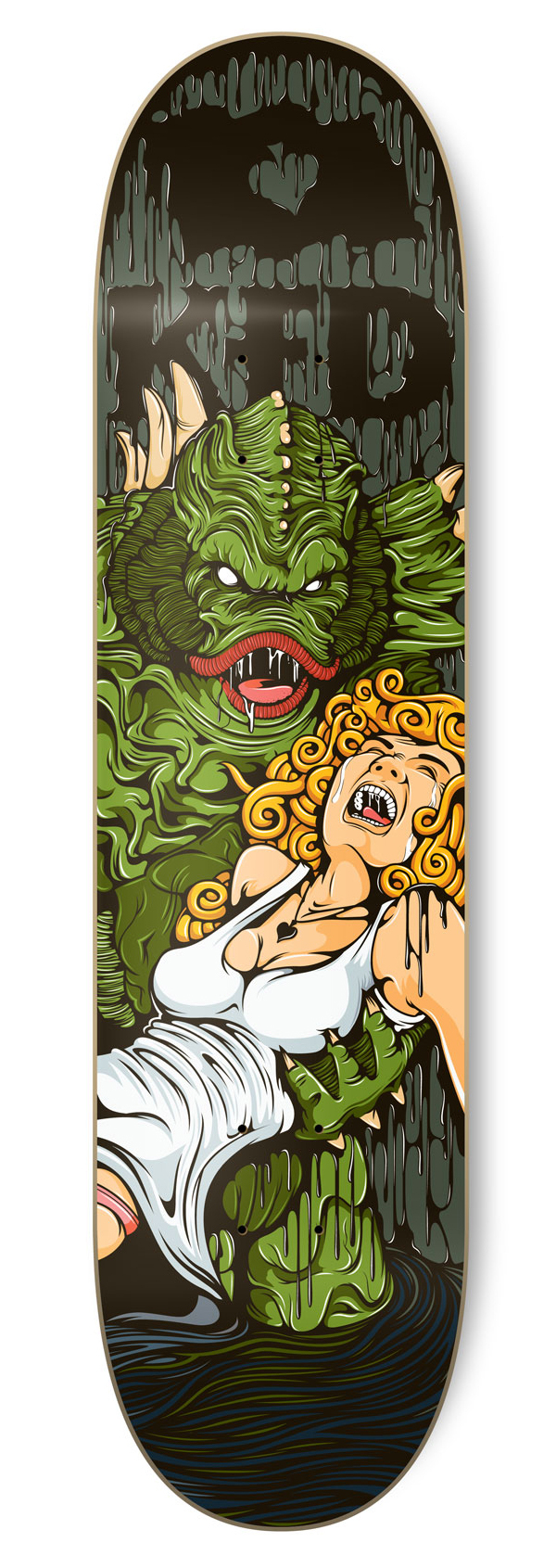 KFD Skate Deck by Greg Darroll