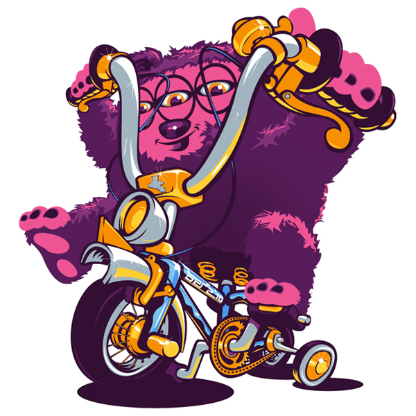Monsters on Wheelzzz by Bert van wijk