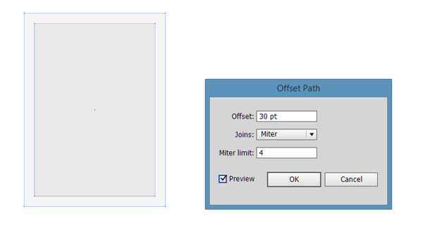 offset path