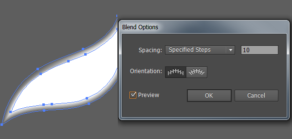 blend options