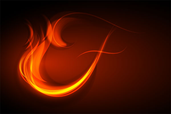 How to Fire Up Your Designs Using This Vector Fire Text Effect