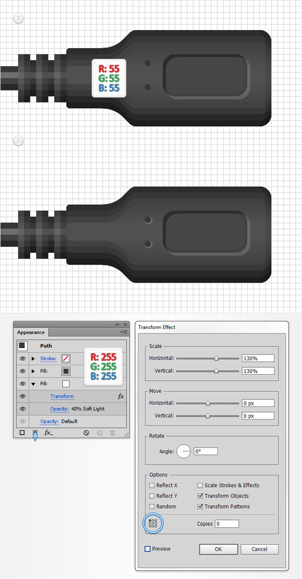 Turn Drab Text Into an Amazing Design Using This Simple USB Vector ...