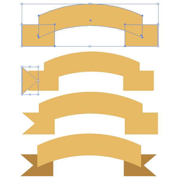 get gilded with this gold ribbon banner vector tutorial vector ribbon banner illustrator vector ribbon banner illustrator