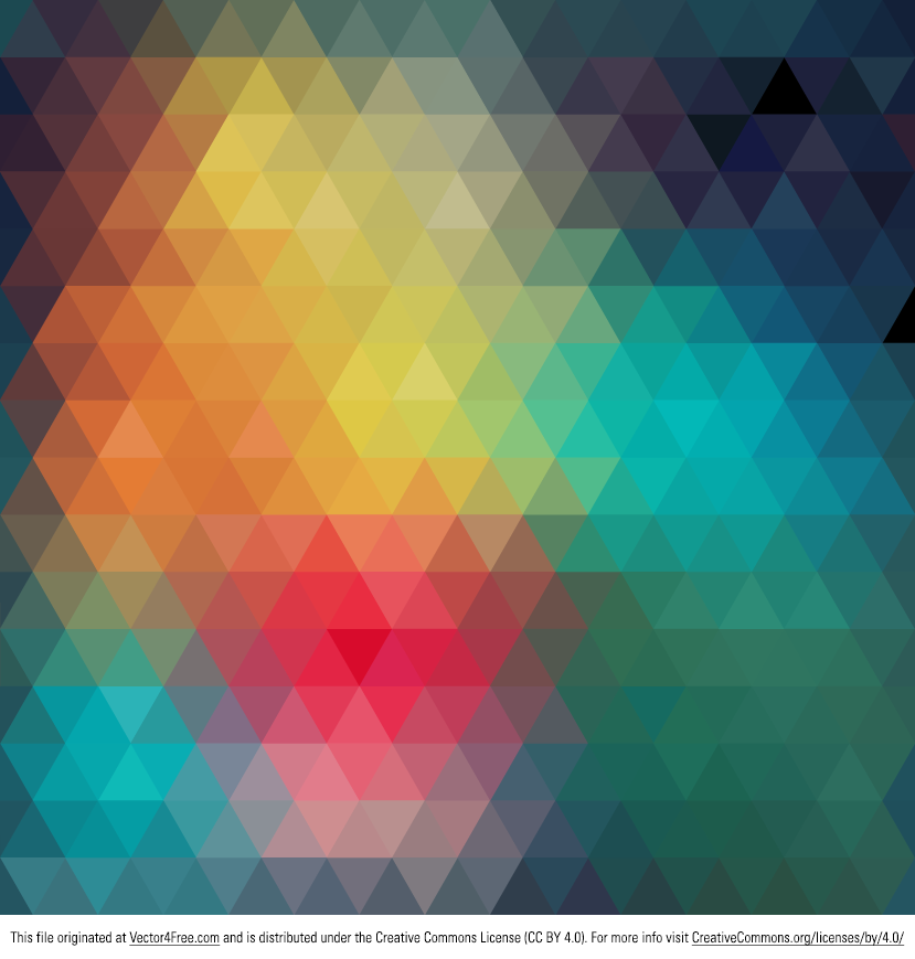 abstract polygonal colorful background - photo #33