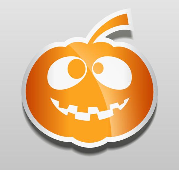 Halloween Pumpkin Vector.Halloween Pumpkin Vector Stickers In 30 Mins Vectips