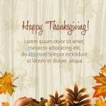 thanksgiving vector