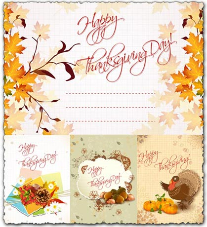 thanksgiving vector