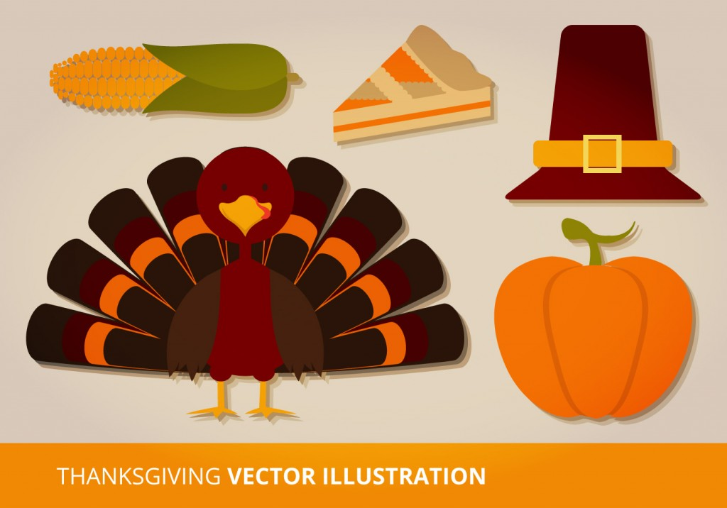 thanksgiving-vector-set