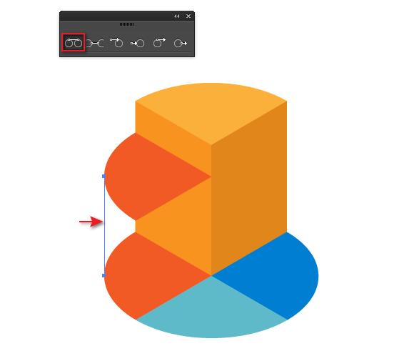 isometric vector infographic elements