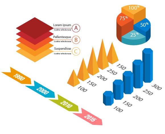 Infographic Tutorial infographic tutorial illustrator cs : How to Create Isometric Vector Infographic Elements - Vectips