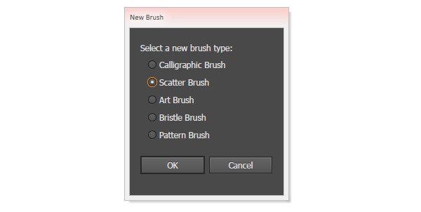 stipple Illustrator brush