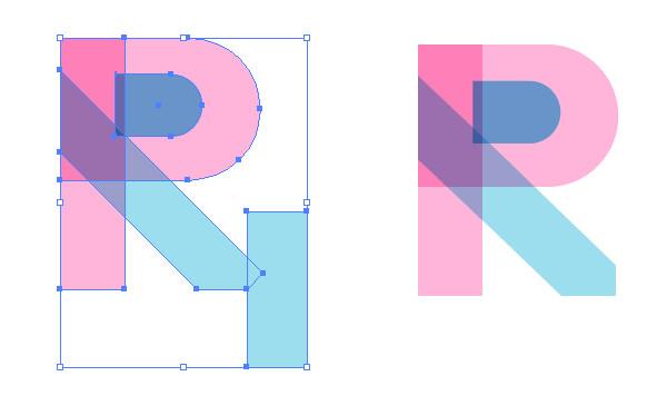 Vector Geometric Alphabet