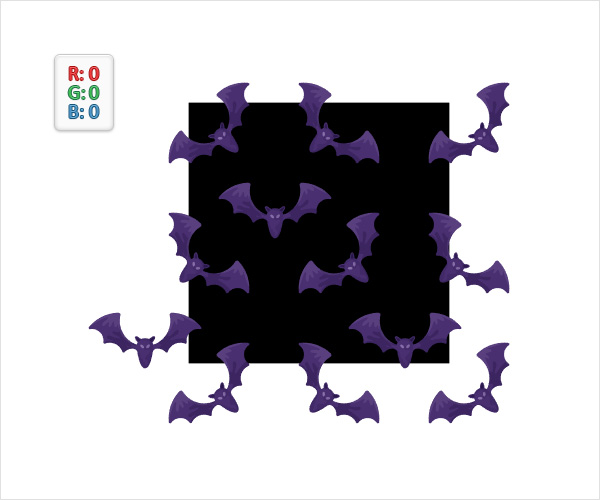 Bat Pattern Vector