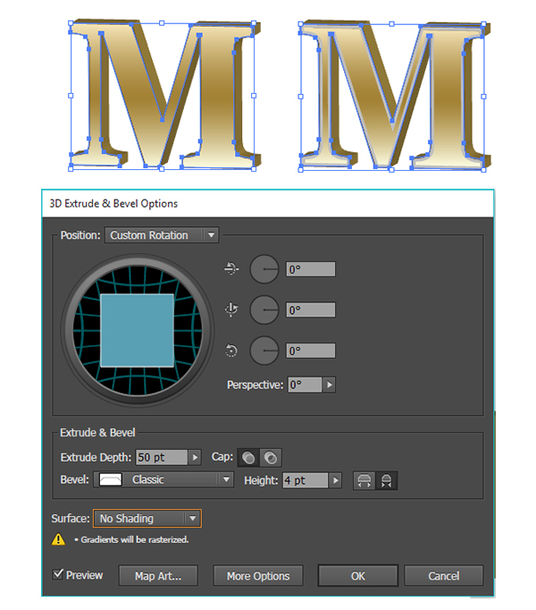 Metallic Text Effect
