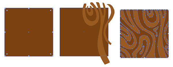 Wood Cut Text Treatment