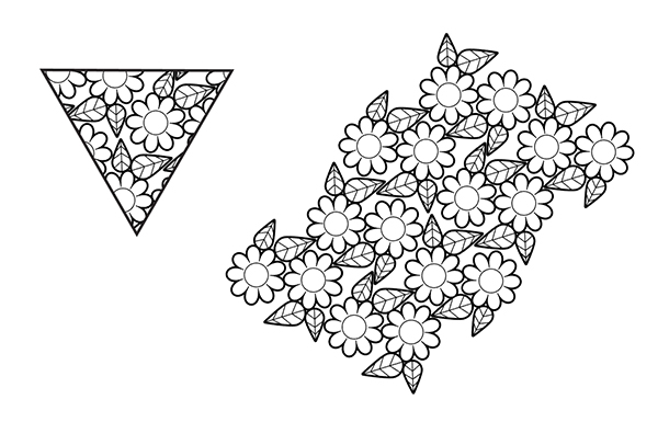 coloring book art vector