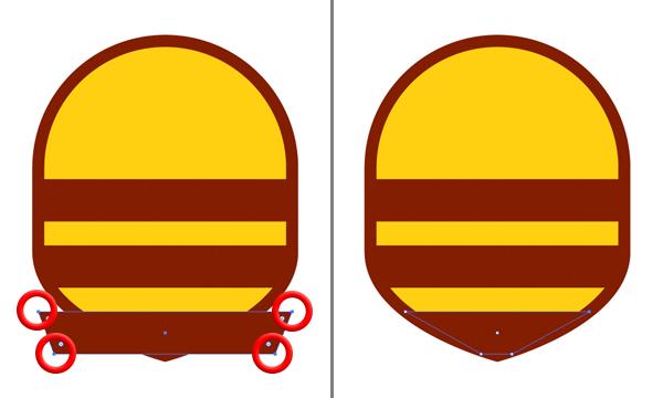 free honey bee logo tutorial