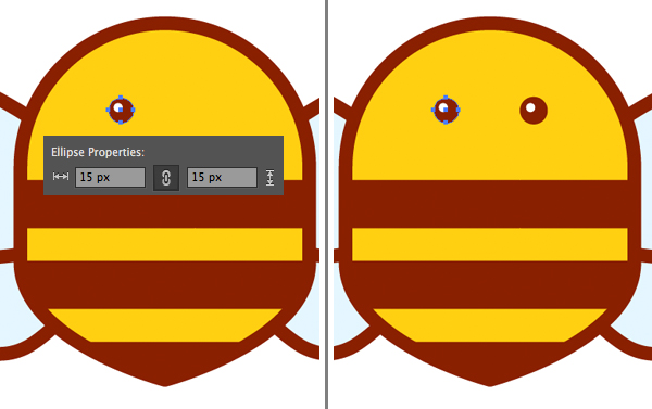 bumble bee icon tutorial
