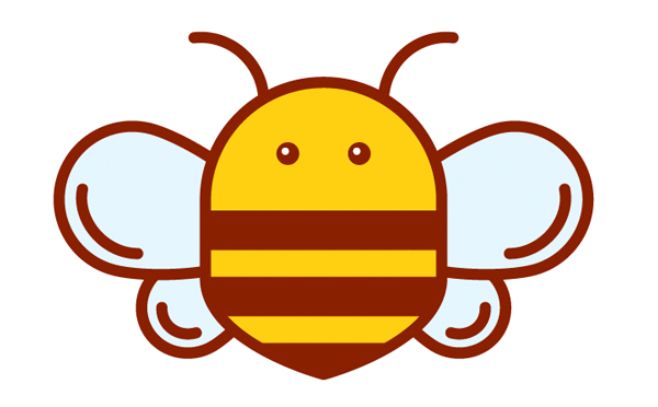 how to make a bee in adobe illustrator