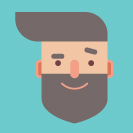 Design a Handsome Flat Hipster Character in Adobe Illustrator