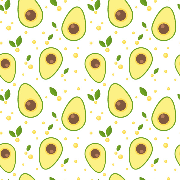 How To Design a Seamless Avocado Pattern in Adobe