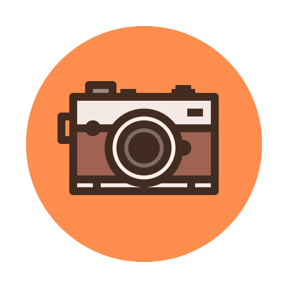 Smile! Learn How to Create a Camera Icon - Vectips