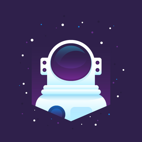 How to create a flat astronaut in adobe illustrator vectips for Design space adobe