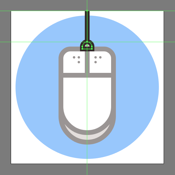 mouse icon cord
