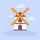 10 Simple Steps to Make a Flat Wind Mill in Adobe Illustrator