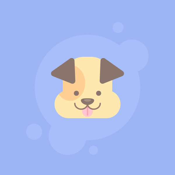 how to draw a cute dog icon in 10 easy steps vectips