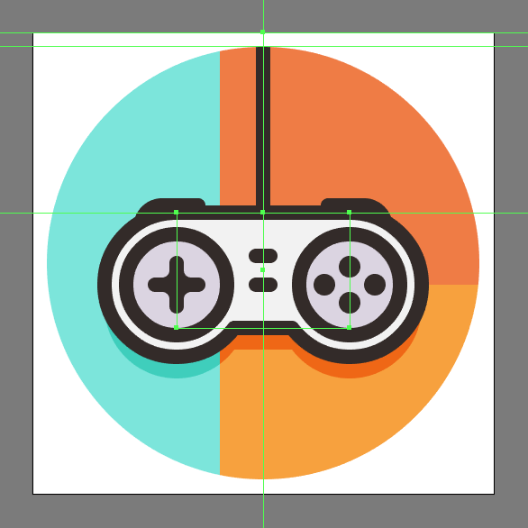 how to create a game controller vector icon vectips vectips