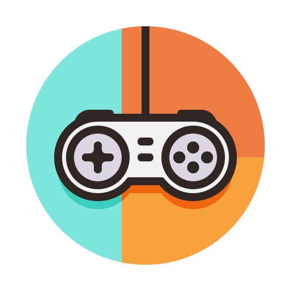 how to create a game controller vector icon vectips