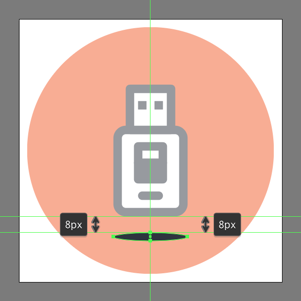usb icon tutorial for illustrator