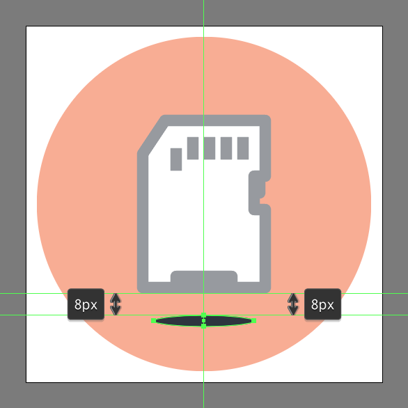 How to create a memory card icon