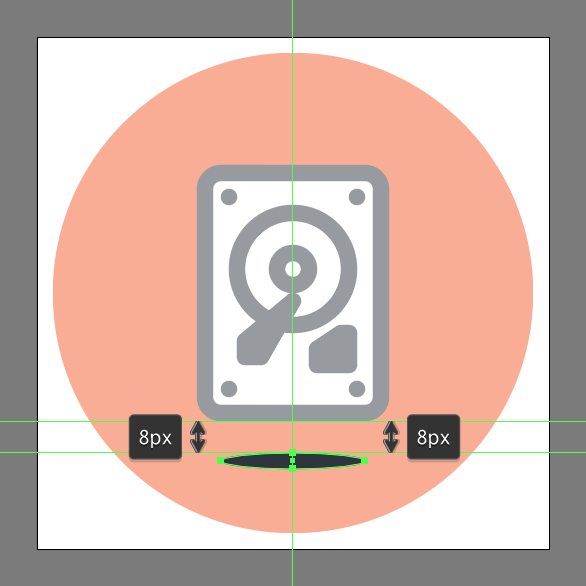 hard drive icon design how to
