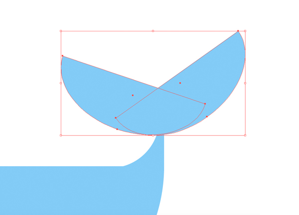 how to draw a whale vector