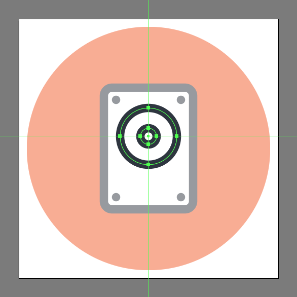 how to design a hdd icon