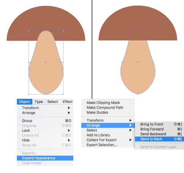 how to design autumn icon