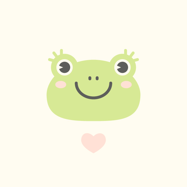 cute frog vector final image