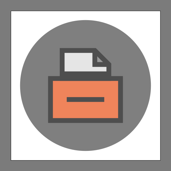 Completed File Cabinet Icon