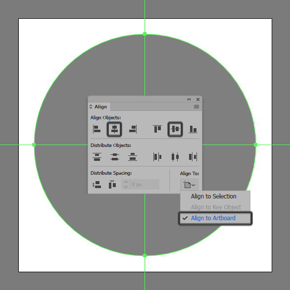 create a circle for the Paper Shredder Icon