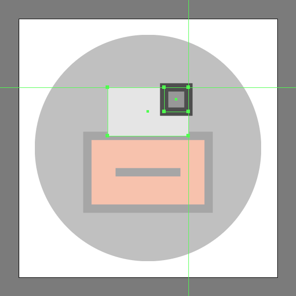 Create document's fold in the File Cabinet Icon