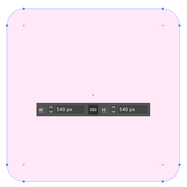 rounded rectangle background