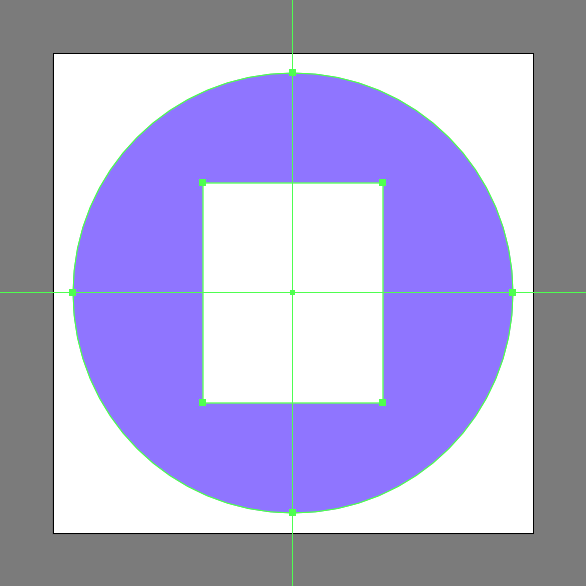 create rectangle for envelopes body