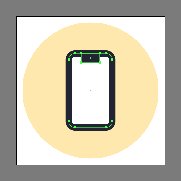 create square for screen