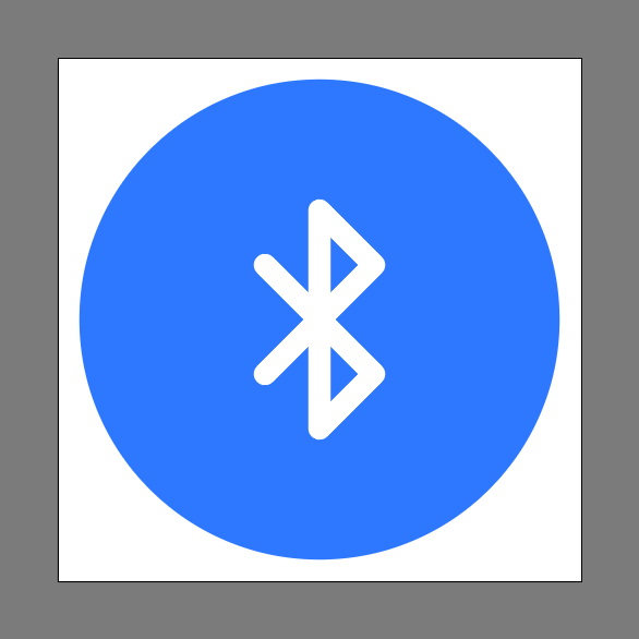 Bluetooth icon final image