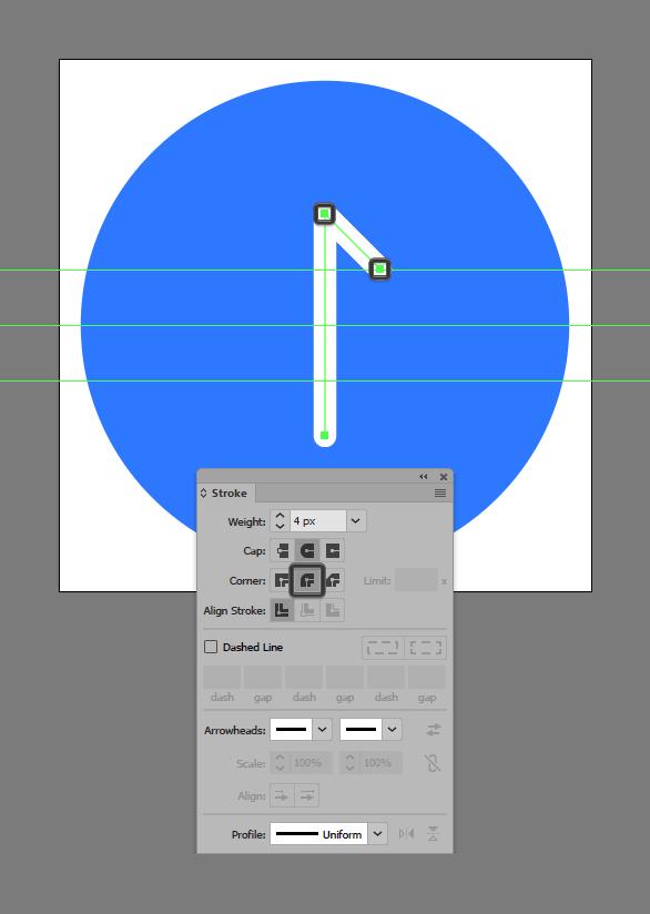 add stroke segment