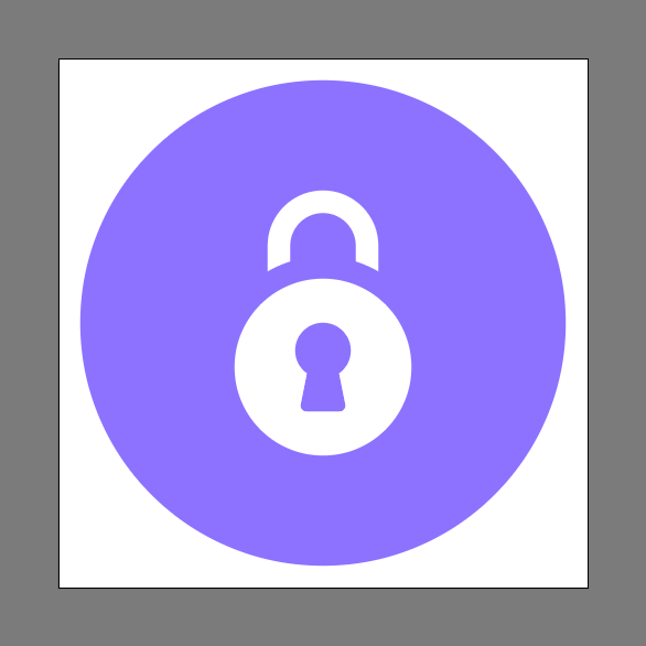 Lock Icon Final Image