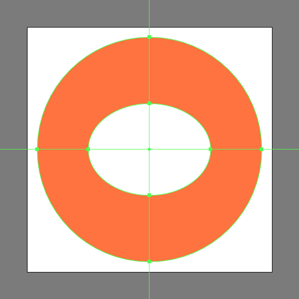 add ellipse and center align