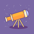 Telescope Icon final image